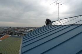 築14年目の屋根修理点検