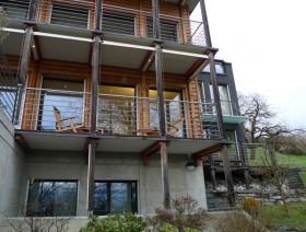 wooden-home-switerland_スイス・チューリッヒ湖畔の木造住宅